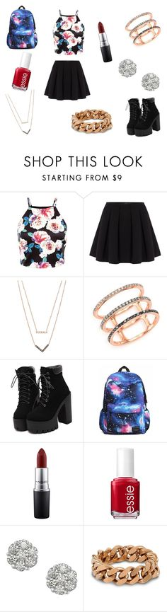 I'm tired of thinking of clever captions by rojoubdalia on Polyvore featuring Polo Ralph Lauren, EF Collection, Michael Kors, STELLA McCARTNEY, MAC Cosmetics and Essie