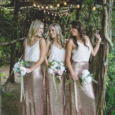 Affordable, Trendy, and Designer Quality Bridesmaid Dresses and Separates. Full of glitter, chiffon and so much style.