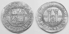 Pillar Type:  The very first Spanish colonial silver coin design in the New World. Struck at the Mexico, Santo Domingo, and Lima mints in the time period of 1536 to 1572 - all undated.