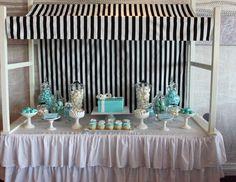 "TIFFANY & CO / Bridal/Wedding Shower ""Breakfast at Tiffany's Bridal Shower"" | Catch My Party"