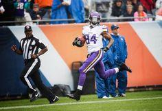 Vikings vs. Bears - 2015, CP kick return for TD