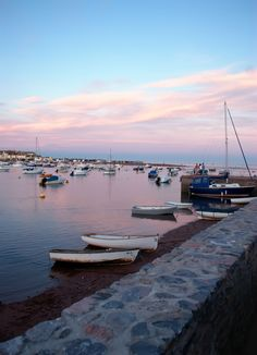 Devon - Shaldon Sunset by David Waumsley