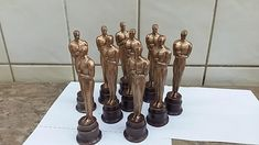 small Chocolate 3D statue inspired USA Film Awards Academy Awards gift to the teacher graduate present birthday gift anniversary