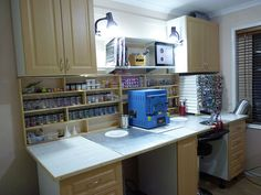 Lampwork heaven - new Studio August 2011 by Maid of Glass (I WANT THIS STUDIO!!!!)