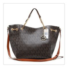 Michael Kors Chain Large Coffee Totes Is More Stylish And Charming For You To Take.