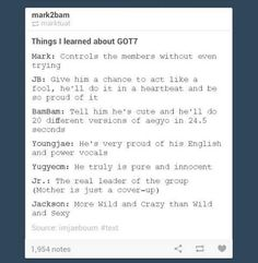 Kpop Education 101 ft. GOT7