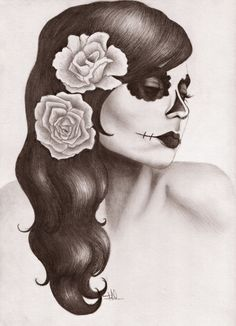 Dia De Los Muertos. by TheTanyaDoll.deviantart.com on @deviantART