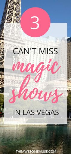 Las Vegas is the magic capital of the world. There are some seriously terrific magic shows in Vegas, and some are great for kids too! 3 of my favorite shows are Xavier Mortimer's Magical Dream, Nathan Burton's Comedy Magic, and of course, icon David Copperfield's show. Check it out! | magic shows in Vegas | magic shows Las Vegas | visit Las Vegas | things to do in Las Vegas | Las Vegas tips | Las Vegas shows | entertainment in Las Vegas