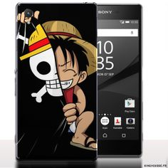 Coque pour telephone portable xperia z5 One Piece. #OnePiece #Z5 #Coque #Telephone