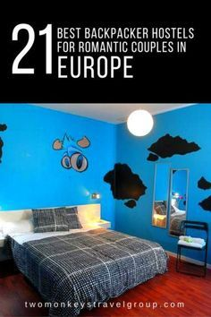 Backpacker Hostels for Romantic Couples in France, Germany, Spain, Czech Republic, Hungary, Greece, Italy, Ireland and Portugal