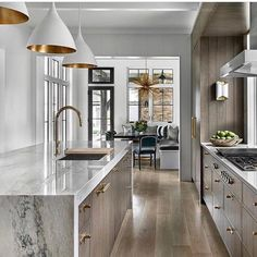 Check out this incredible kitchen by @brynnolsondesigngroup via @inscapesdesign