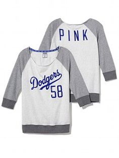 Jojo- i love this so much it makes me wanna switch teams!! Los Angeles Dodgers Vintage Crew