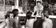Hamburger Stand at Kaimana Beach, cir mid 70s