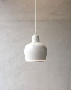 Golden Bell Alvar Aalto, Interior Lighting, Ceiling Lights, Pendant, Inspiration, Home Decor, Biblical Inspiration, Decoration Home, Room Decor