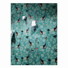 Papier peint Nathalie Lété pour Anthropologie. #nathalielete #anthropologie #wallpaper