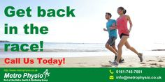 Knee Pain? Sciatica? Whiplash? Metro Physio Can Help You! www.metrophysio.co.uk