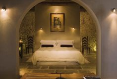 Nestled in Scicilian olive groves.... http://www.mrandmrssmith.com/luxury-hotels/azienda-agricola-mandranova/photos - Mr & Mrs Smith - Cerasuola Suite