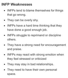 I'm an INFJ, but all of these apply to me... Except the one about bad relationships.