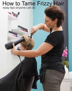 Easy How to Tips for Taming Frizzy Hair