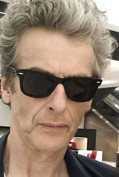 """'[Capaldi had] written 'Time Lord' in the occupation box on his passenger arrival card in Auckland.' ""And they still let me in."" Lovely little gem found in a review of Peter Capaldi's Q&A in Auckland. Just when I think he can't get any more nerdy and perfect… Peter Capaldi Doctor Who, Let Me In, Twelfth Doctor, Time Lords, Dr Who, Auckland, Tardis, Wayfarer, Nerdy"