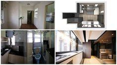 Как уместить полноценную кухню, ванную, домашний кинотеатр и спальню для гостей на 28 кв. метрах