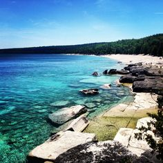 Half Way Log Dump Beach, Bruce Peninsula Photos Voyages, Canada Travel, Ontario, Vacations, National Parks, To Go, Camping, Earth, Water