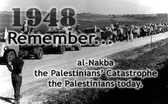 We will never forget #Nakba