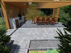 Návrhy a realizácie záhrad 🌿 Záhrada s ohniskom. 🌳🔥Súčasťou našej práce sú realizácie a návrhy záhrad taktiež aj rekoštrukcie existujúcich záhrad. 💪 Aktuálne je ideálne obdobie na plánovanie zmien a rekonštrukcií. Pergola, Sidewalk, Patio, Garden, Outdoor Decor, Home Decor, Garten, Decoration Home, Room Decor
