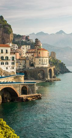 //Atrani, Italy #travel #places #photography