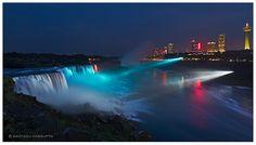 Niagara Falls at Blue Hour by santanu.dasgupta via Flickr