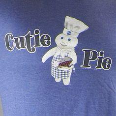 Cutie Pie Thrifting with The Boys Shirt Medium Pillsbury Dough Boy | eBay