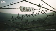 Happy Independence day greeting card on Behance