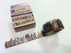 Bookish Masking Tape by LightLife. WANT.