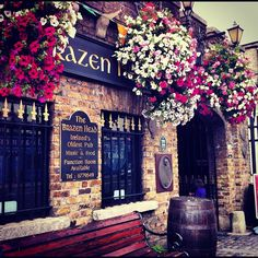 """Brazen Head in Dublin  """"To Your Health: Slainte!"""" [1000 Places To See Before You Die]"""