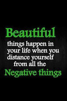 Aléjate de la negatividad y prepárate para #alcanzarelexito