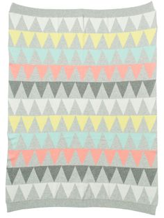 Cotton Baby Blanket 'DANTE' by Bonnie baby