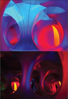 Architects of Air build 'luminaria' - inflatable structures for the beauty of light and color.