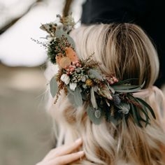 Floral crown for wedding / virágkoszorú esküvőre Floral Crown, Flowers, Wedding, Jewelry, Accessories, Fashion, Valentines Day Weddings, Moda, Jewlery