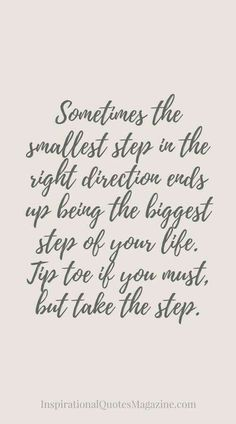 Take the step. #growth #gatherconversations