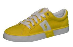 Polo Ralph Lauren Women's Gillian Yellow Shoes