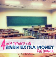 After nine and a half months of working overtime, teachers certainly deserve some relaxation! If you are like me, though, you could also use some extra cash in your bank account. Summers can be a great time for teachers to earn a little (or a lot!) of money to help them reach their financial goals. Here are 5 ways teachers can earn money over the summer...
