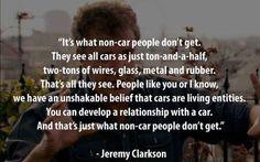 I'm A Living, Breathing, Car Geek