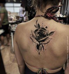 Black rose by Felipe Rodrigues Fe Rod