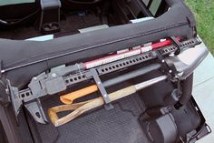 "Dominion OffRoad Jeep JK Wrangler 4-Door 48"" Hi-Lift Jack Mount and Accessory Bars Combo Kit"