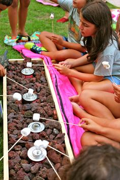 Smores we need to do on the back porch when everyone shows up!
