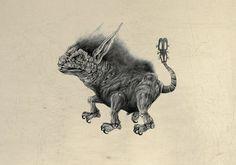 """""""Adolfo y sus monstruos"""".  www.joaquinrosado.blogspot.com"""