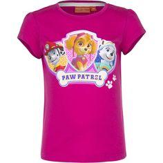 T-Shirt Paw Patrol - Marshall, Skye & Everest (Fuchsia)