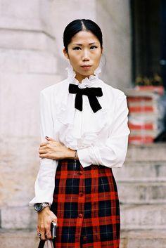 Vanessa Jackman: Paris Fashion Week SS 2015....Oxana