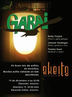 AKEITIA KAFETEGIA  Gabai en Concierto  Amurrio