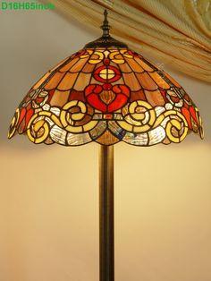 Baroque Tiffany Lamp16S6-15F8